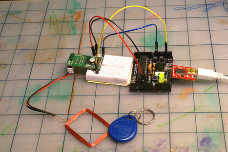 125Khz RFID Module RDM630 | Projet PI | Scoop.it