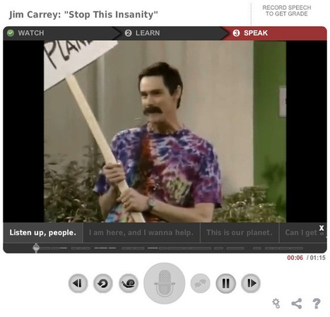 Learning English with Jim Carrey – EnglishCentral: The Official Blog | How to learn English effectively | Scoop.it