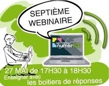 Numerice: Webinaires | Pédagogie Universitaire, TICE and co | Scoop.it