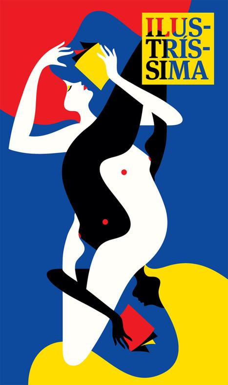 Illustration / Malika Favre | Design Graphique | Graphisme up | Scoop.it