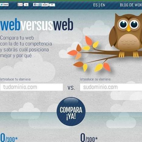 Una app para comparar el posicionamiento SEO de dos sitios web | JesusAnFor | Scoop.it