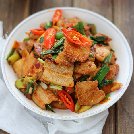Twice Cooked Pork - Chinese recipes and eating culture | Food | Scoop.it