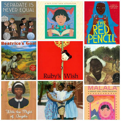 Books about Girls in School: Fighting for their Education - Kid World Citizen | Sobre educación | Scoop.it