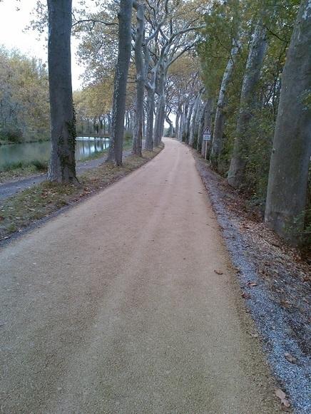 Piste cyclable du Canal du Midi : travaux de rénovation   Cyclotourisme Mag   agence événementielle   Scoop.it