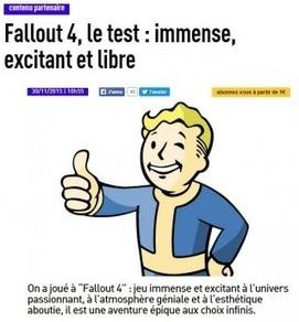 Jeux video: Les Inrocks inventent le test sponsorisé | DocPresseESJ | Scoop.it