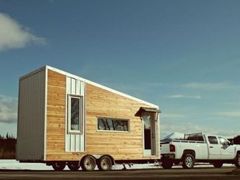 Tiny, Winter-Proofed, 215 Sq. Ft. Leaf House Fits Family of Four | Pre Fab Homes | Scoop.it