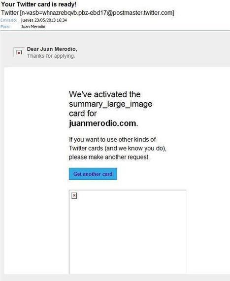 Qué son las Twitter Cards y Cómo Crearlas para tu Web o Blog | Diario de los #lideres de hoy | Scoop.it