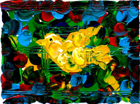 """Yellow Peace"" by Patricia Quinche 