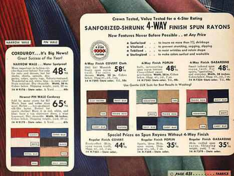 Sewing Authentic Vintage: 5 Tips for Choosing Fabrics and Notions   Sew Artfully Simple   Scoop.it