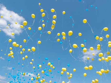Decorazioni con palloncini a elio: 3 feste, 3 idee!   Love DIY   Scoop.it