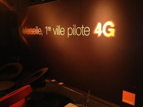 Marseille 1ère ville couverte en 4G par Orange | 4G | Scoop.it