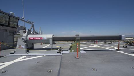 L'US Navy étudie la possibilité d'intégrer le nouveau canon électromagnétique sur le 3ème DDG-1000 classe Zumwalt | Newsletter navale | Scoop.it