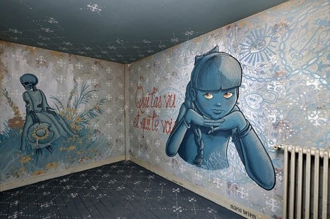 In pictures: Paris tower block gets a street art makeover for exhibition - Telegraph.co.uk   Street Art   Scoop.it