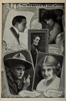 About Silent Movies: Who were the top movie stars of 1913?   Early Cinema   Scoop.it