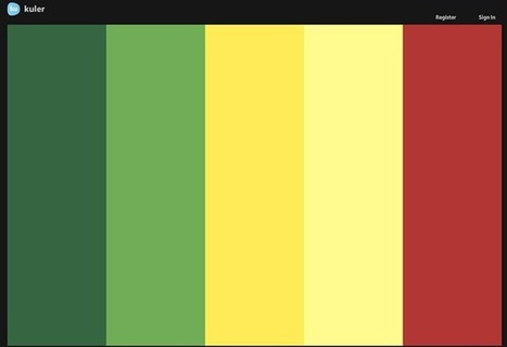 20 Best Color Tools For Web Designers | Web Design & SEO Services | Scoop.it