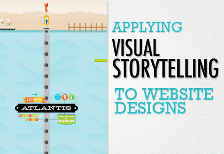 Applying Visual Storytelling to Website Designs | Transmedia: Storytelling for the Digital Age | Scoop.it