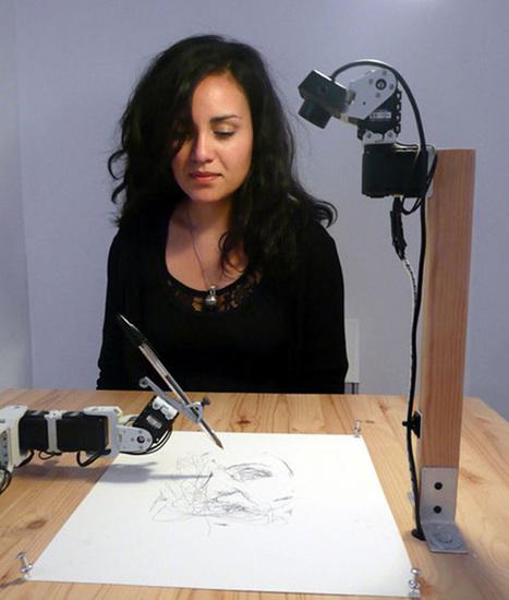 Le robot Paul vous tire le portrait | Actualités robots et humanoïdes | Scoop.it