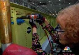 Original 'Rosie the Riveter' girl, now 93 years old, is still working on a California assembly line  | Technology and trades careers for women | Scoop.it