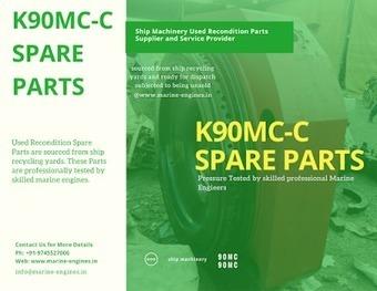 Main Engine K90MC Spare Parts | Marine Engines Motors and generators | Scoop.it