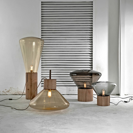 Lights wear glass /  Dan Yeffet & Lucie Koldova | Du mobilier, ou le cahier des tendances détonantes | Scoop.it