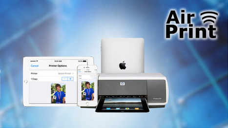 How to AirPrint from your iOS device - SoftwareVilla News | Into the Driver's Seat | Scoop.it