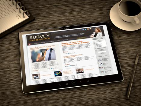 SurveyMag, le magazine des études, sondages, statistiques et technologies d'enquêtes | Market Research | Scoop.it