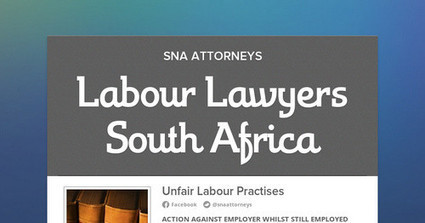 Labour Lawyers South Africa | Attorneys Johannesburg | Scoop.it