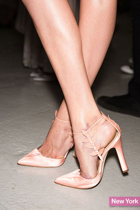 The Best Shoes, Flats, Heels at Spring 2014 Fashion Week - Glamour | A-TownGirl. | Scoop.it