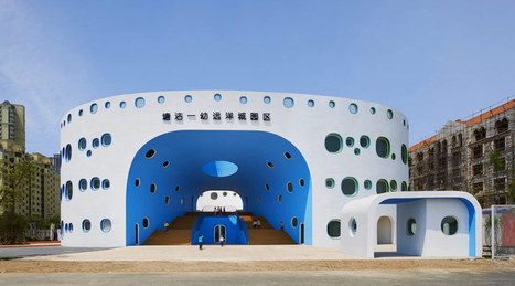 SAKO architects: LOOP kindergarten in tianjin | The Architecture of the City | Scoop.it