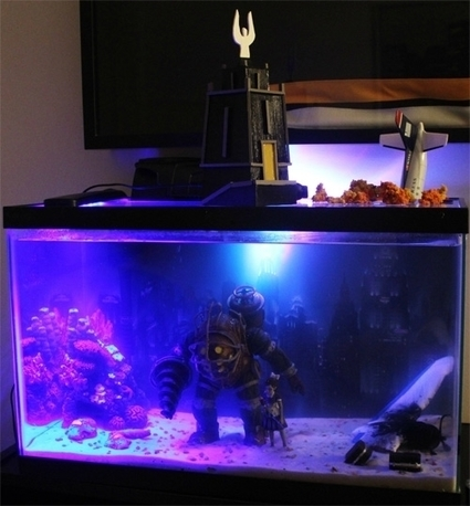 BioShock Fish Tank Brings Rapture To Your Goldfish - Tech Times | SpyXotic.com | Scoop.it
