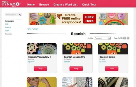Word Dynamo – Practicando vocabulario en varios idiomas | Recull diari | Scoop.it
