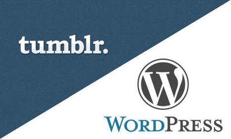 WordPress mentionne que les blogs Tumblr ont été exportés à gogo après l'acquisition de Yahoo!   BlogNT   Innovations, Applications, technologies   Scoop.it