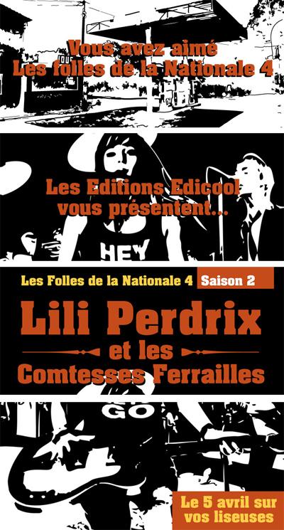 Du rythme à lire - Lili Perdrix et les Comtesses Ferrailles | À toute berzingue… | Scoop.it