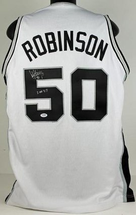 David Robinson Signed Jersey Autographed | Sport Outdoor | Scoop.it
