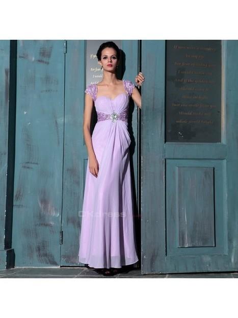 2015 Fantasy Purple Sequin Formal Dress - by OKDress UK | Fashion & Beautiful Dresses | Scoop.it