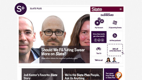 Slate to Introduce a Membership Plan | Trends in online content | Scoop.it