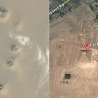 Lost Egyptian Pyramids Appear on Google Earth | Ancient Egypt and Nubia | Scoop.it