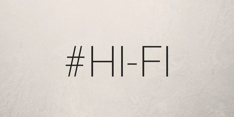 Meet Hi-Fi, The Hashtag-Themed Social Network For iOS | Niche Social Networks | Scoop.it