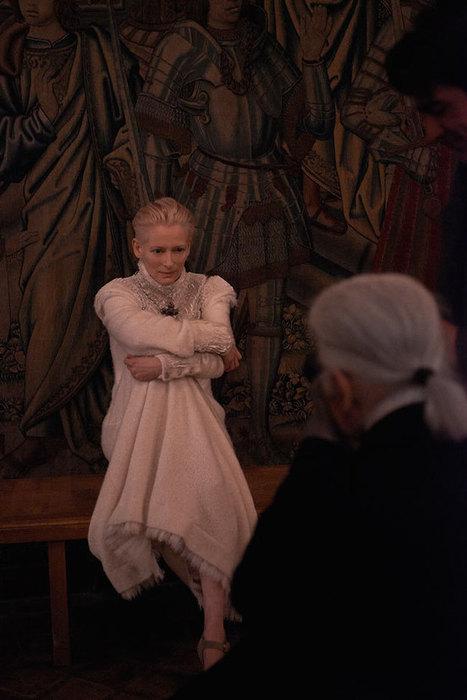 Chanel Taps Tilda Swinton for Pre-Fall 2013 Campaign | TAFT: Trends And Fashion Timeline | Scoop.it