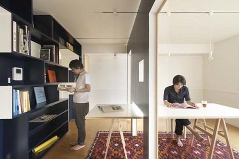 Transforming a small apartment into a hybrid home office/living space | Creative Insights | Scoop.it