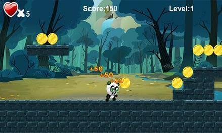 Baby Panda Run - Ensure that the Panda must not fall off the platform | Free Android Apps and games | Scoop.it