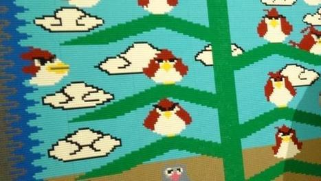 A Navajo Tapestry Made of Angry Birds and 57,000 LEGO Bricks   Contemporary Native American Art   Scoop.it