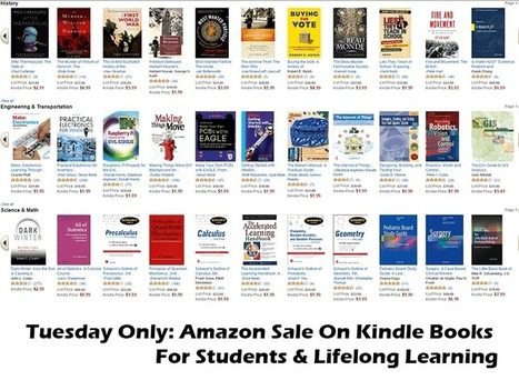 Tuesday Only: Amazon Sale On Kindle Books For Students & Lifelong Learning - | TeachThought | Scoop.it