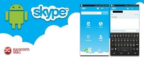 Skype para Android - Las mejores Aplicaciones Android 2014 | Random Mag | Random Magazine | Scoop.it