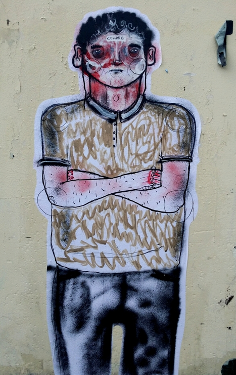 Corpse Art on Brick Lane.   Street Art   Scoop.it