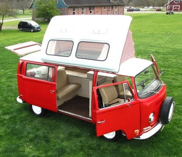 1971 VW Camper Van by Dormobile | eBay Motors Blog | Kitsch | Scoop.it