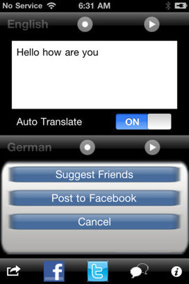 SpeechTrans App Review for iOS | iPhone Apps | iPhone App Reviews | iPhones and iThings | Scoop.it