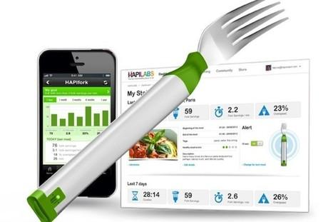 La fourchette vibrante Hapifork pour combattre l'obésité - Le Huffington Post | Objet publicitaire | Scoop.it