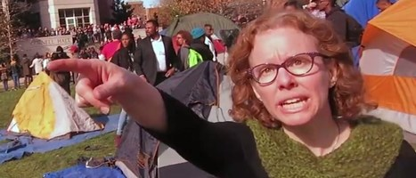 Mizzou's Melissa Click To Cops Clearing Parade Route: 'Get Your F***ing Hands Off Me' - Street I Am | Street Events | Scoop.it