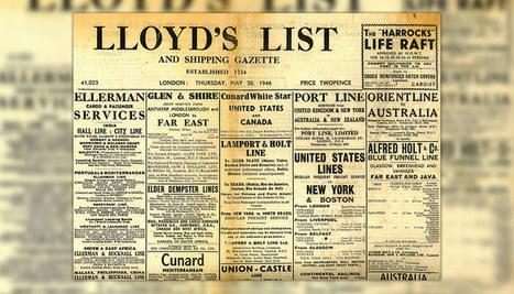 Le plus vieux journal du monde passe au tout-numérique | Mise à jour(nalisme) | Scoop.it